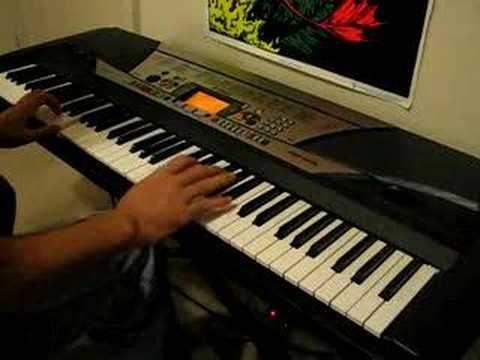 Kirby's Gourmet Race On Piano / Keyboard (PSR-GX76)