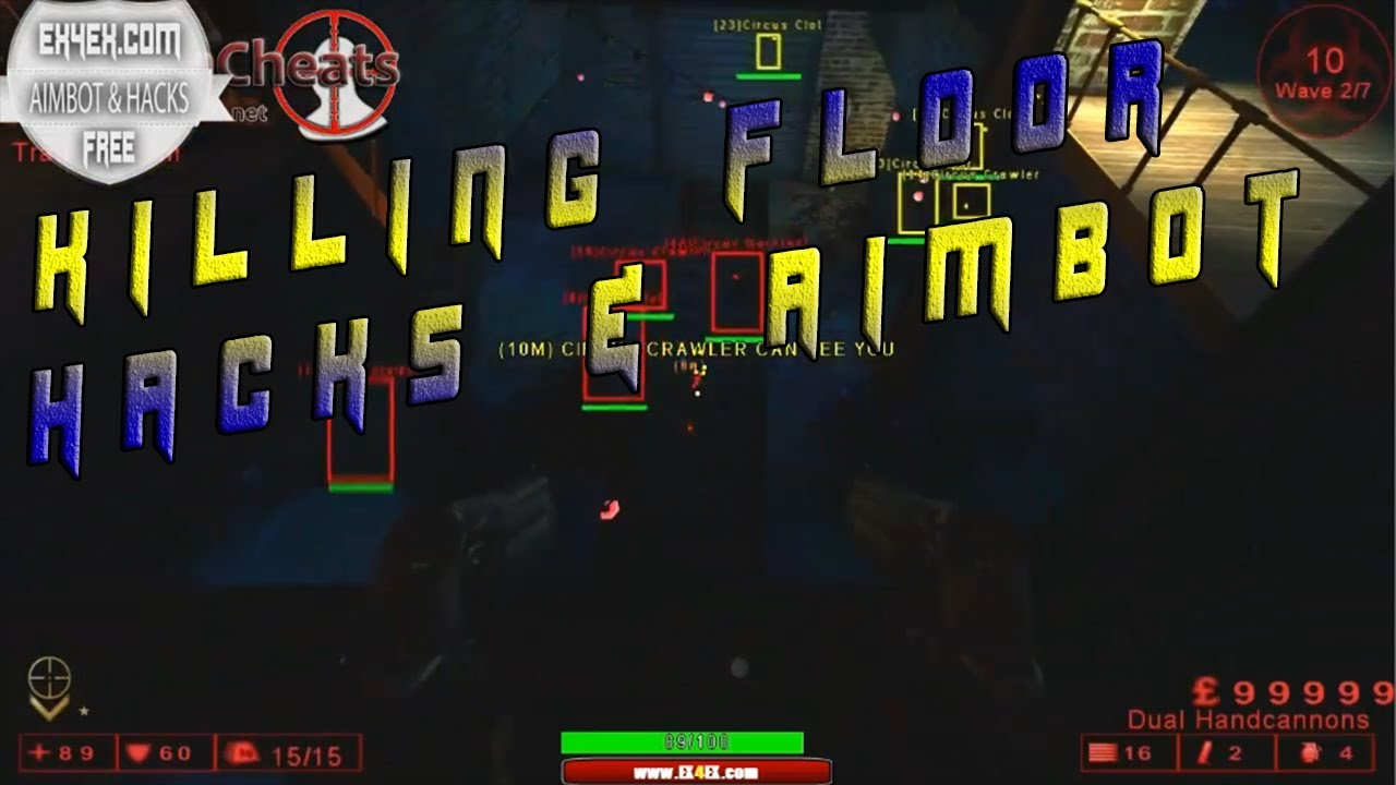 Killing floor aimbot hack 2013 undetected youtube for Killing floor hacks