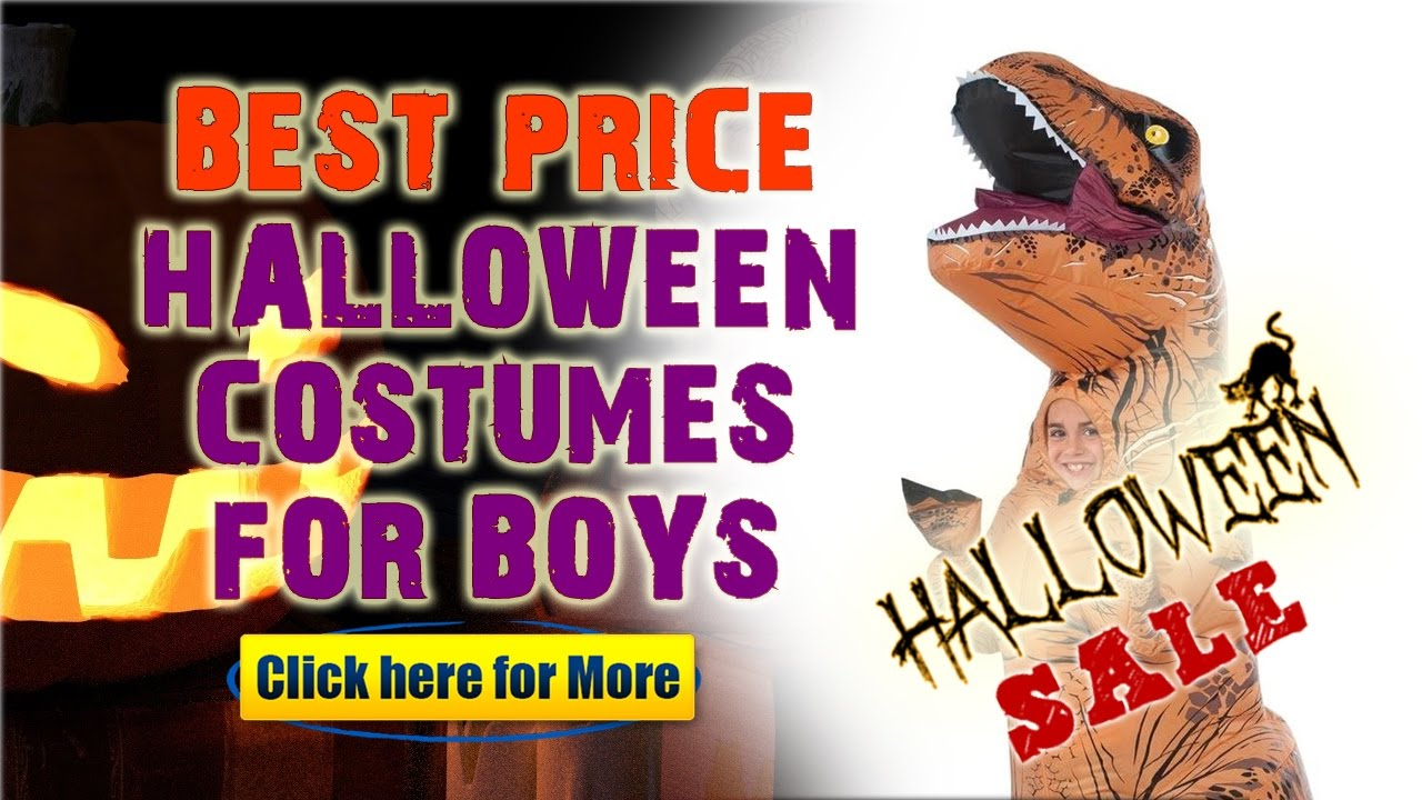 boy kid halloween costumes 2016 on sale! - jurassic world t-rex