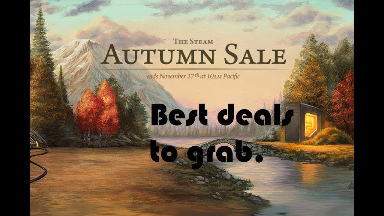Steam Autumn Sale 2018 Must Buy games + 3rd party sites Black Friday Sale