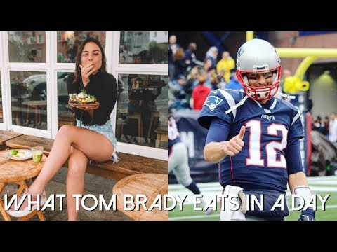 What TOM BRADY Eats In A Day