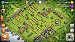Worst Bases in Clash of Clans Part 1
