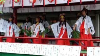 竹駒神社 秋季大祭 山車巡幸 おはやし thumbnail
