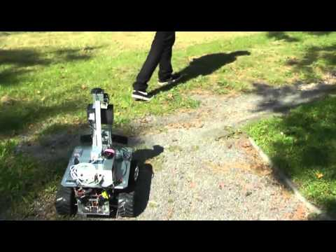 Autonomous person following with 3D LIDAR in outdoor environments