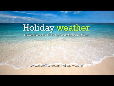 March holiday weather - Portugal, Egypt, Canary Islands, USA, Tunisia
