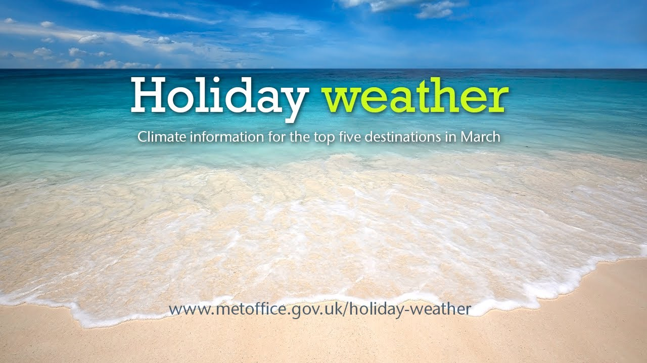 March Holiday Weather Portugal Egypt Canary Islands Usa Tunisia Youtube