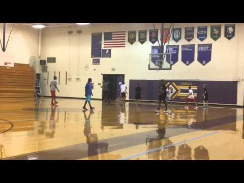 Briggs Middle School Point Guard Clinic 08-15-15