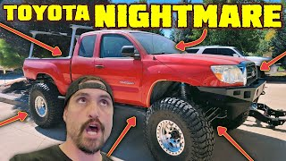 TOYOTA TACOMA NIGHTMARE BUILD - It's Worse Than We Thought! (Shop Update)