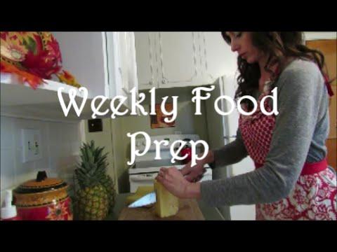 Weekly Food Prep (November 2014)