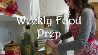 Weekly Food Prep (november 2014)