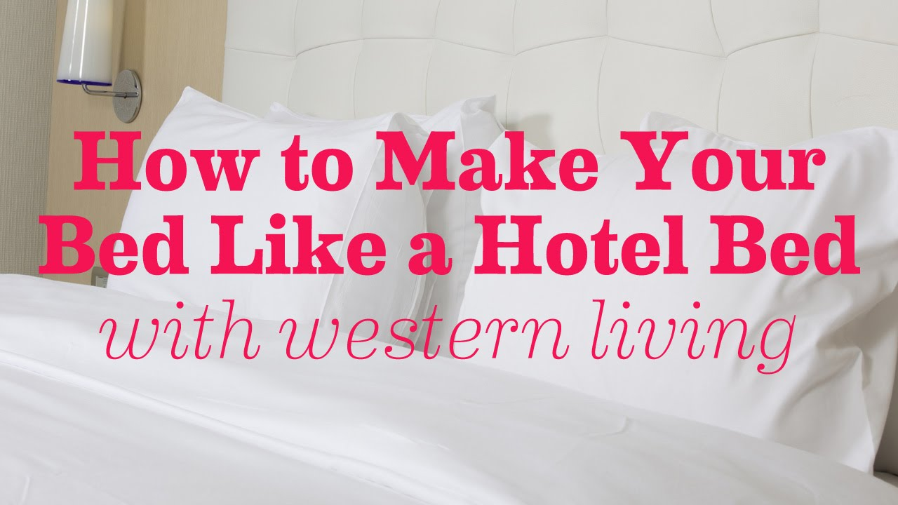 how to make a bed like a hotel 1000 ideas about make a