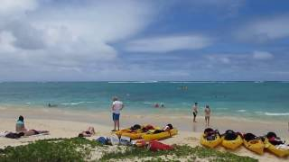 Lanikai Beach Kailua Oahu Hawaii (July 2012)