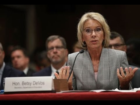 Betsy DeVos Goes After Protections For Disabled Students