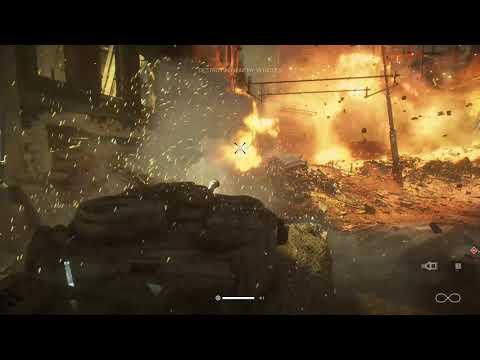 Realistic Tank Battle in Games  ! Tiger 1 in Battlefield 5 - WW2  