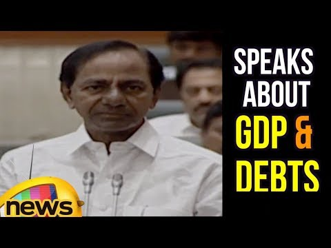 Chief Minister KCR Speaks About GDP And Debts | Mango News