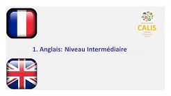 1. Anglais Intermédiaire Niveau Cours Oral: Pratique Apprentissage