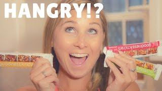 How To Prevent From Getting Hangry During Pregnancy   goodnessknows snack squares Review