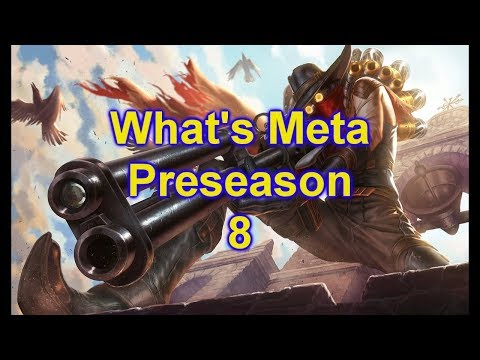 What's Meta Ep 1 Preseason Supports, Jhin and Ezreal