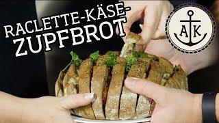 Raclette-Käse-Zupfbrot - Ankerkraut grillt