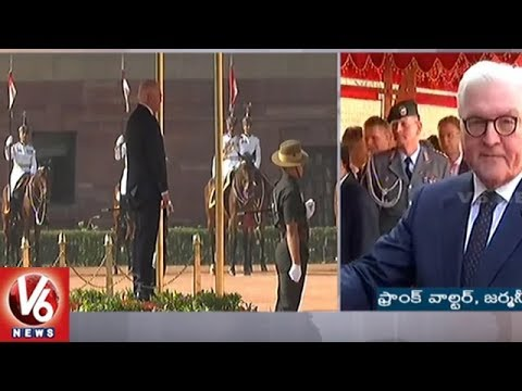 German President Frank Walter Steinmeier Visits Rashtrapati Bhavan, Accorded Ceremonial Welcome | V6