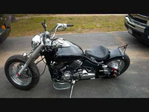 V Star 650 classic going from stock to bobber!!