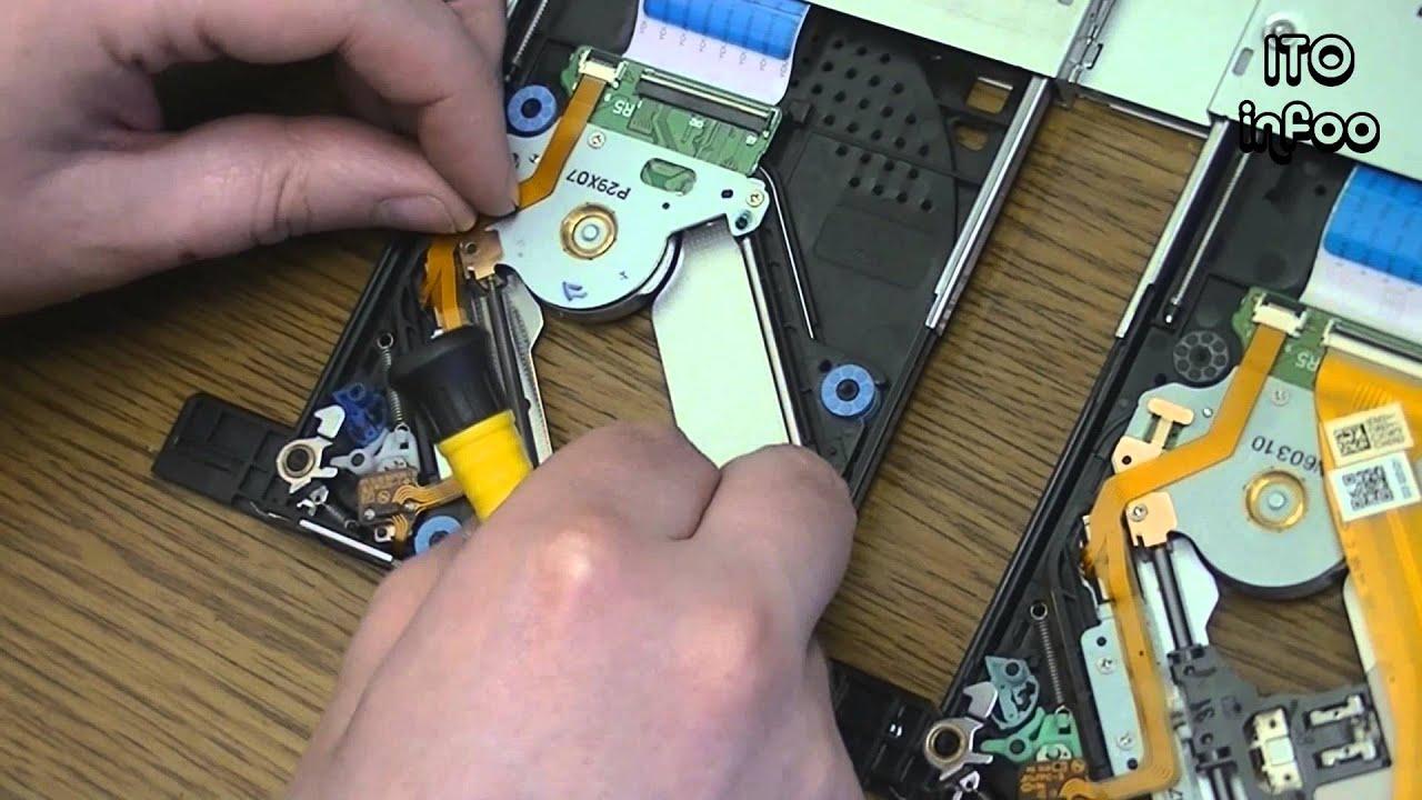 как восстановить работу dvd привода