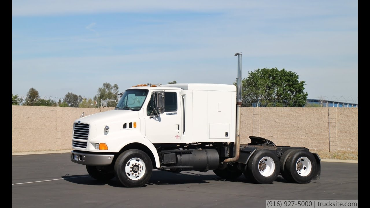 1998 Ford Lt9000 Louisville Tractor With Sleeper For Sale