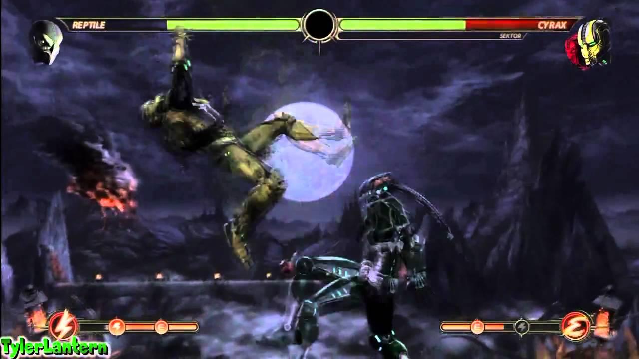 Reptile Cyber Kombat Mortal 9
