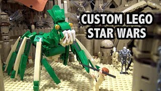 Baixar Custom LEGO Geonosis Arena Battle | Star Wars: Attack of the Clones