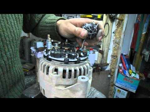 видео: ремонт генератора (Элтра) ваз 2115