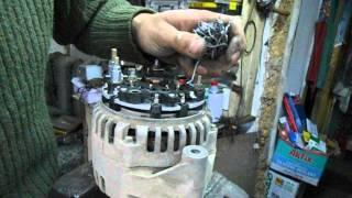 ремонт генератора (Элтра) ваз 2115