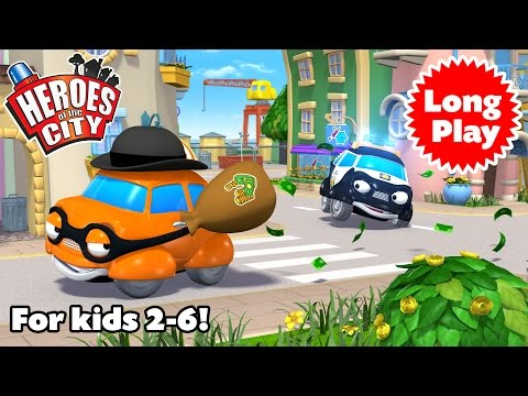 Heroes of the City 2 - Preschool Animation - Non-Stop! Long Play - Bundle 03