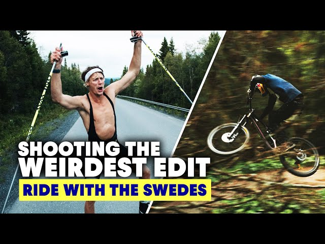 Creating The Weirdest MTB Edit at Åre Bike Festival | Ride With The Swedes S2E2