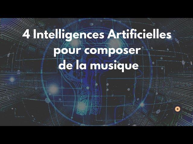 4 intelligences Artificielles pour composer de la musique sur ordinateur - [mixage en home studio]