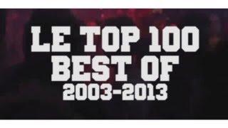 LE TOP 100 DES MEILLEURES MUSIQUES DE CES 10 ANS (2003-2013)