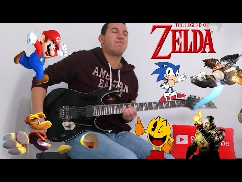 Evolution of Video Games Meets Guitar