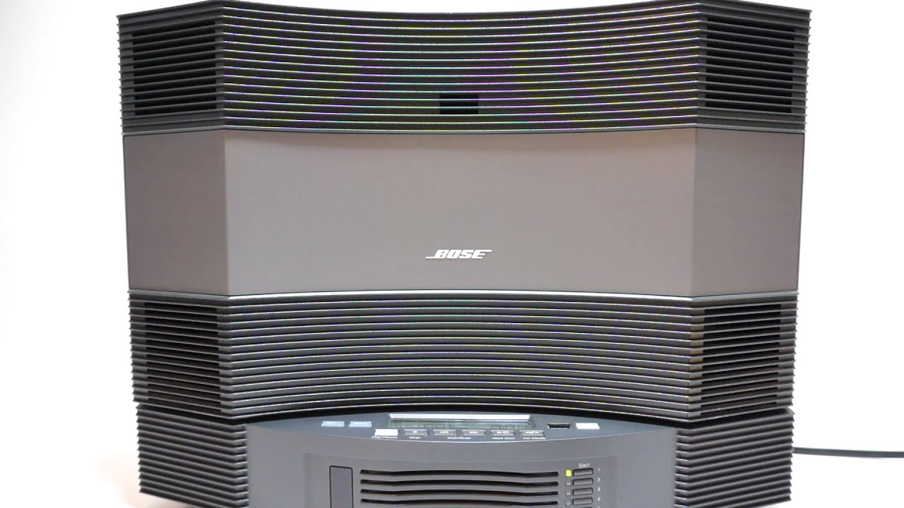 bose acoustic wave music system cd 3000 demo youtube. Black Bedroom Furniture Sets. Home Design Ideas