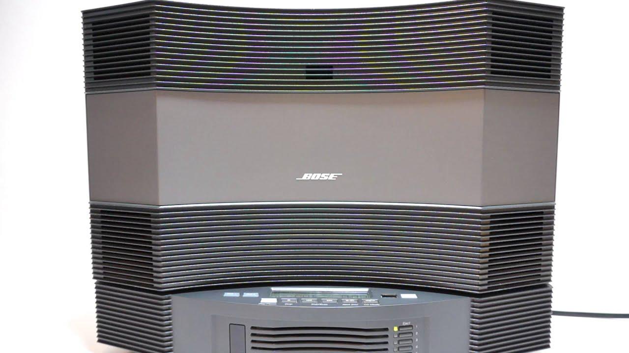 Bose Küchenradio Mit Cd ~ bose acoustic wave music system cd 3000 demo youtube