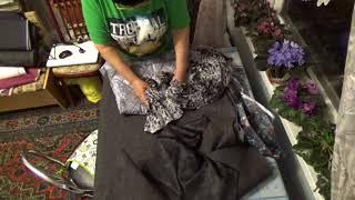 #690.распаковываю очередной заказ ткани