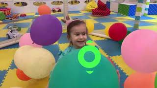 Lika plays with BABY Doll Indoor Playround for Kids Family Fun with Joy Joy Lika