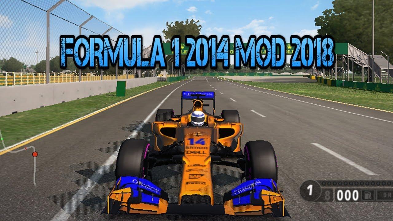 F1 2014 MOD 2018 (mega)