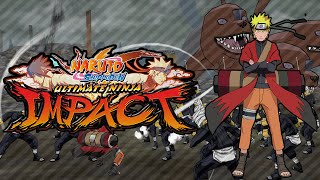 Naruto Shippuden-Ultimate Ninja Impact PSP - Gameplay