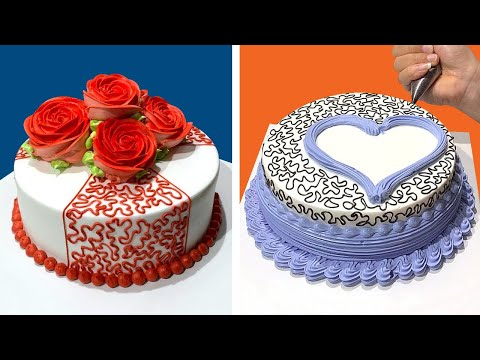 Most Satisfying Chocolate Cake Decorating Ideas | So Easy Cake Decorating Tutorial for Weekend