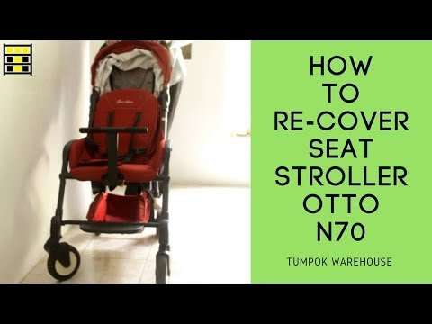 how-to-re-cover-stroller-otto-n70