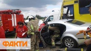 Как оказать первую помощь при ДТП - учения спасателей в Ужгороде