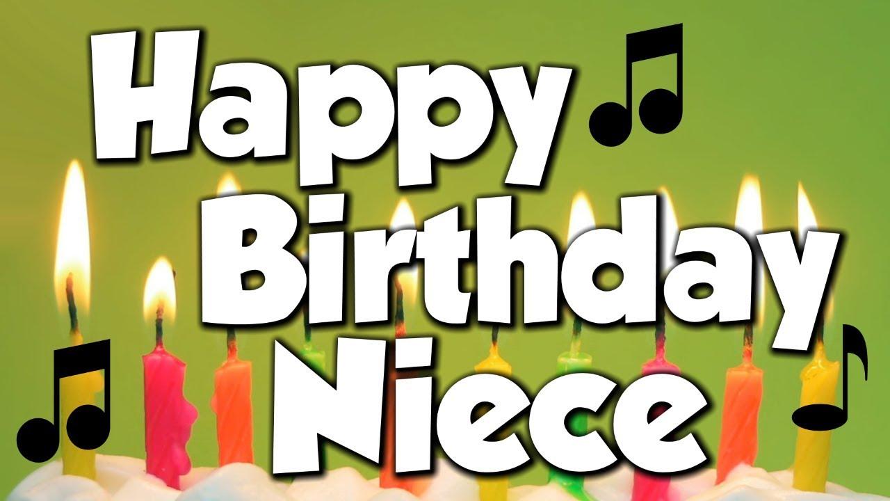 Happy Birthday Niece A Happy Birthday Song Youtube