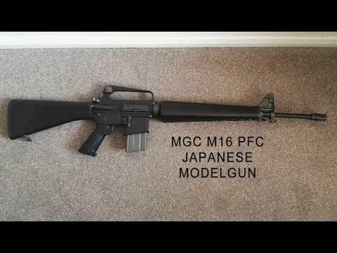 MGC M16 Japanese Modelgun