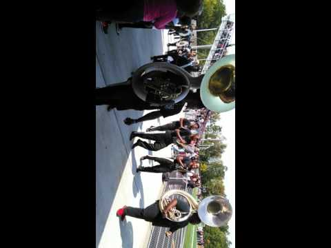 West Mecklenburg High school 2015 Band