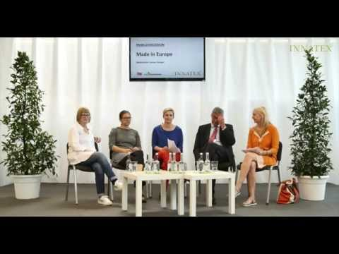 "INNATEX PANELDISKUSSION ""Made in Europe"" am 02.08.2015"