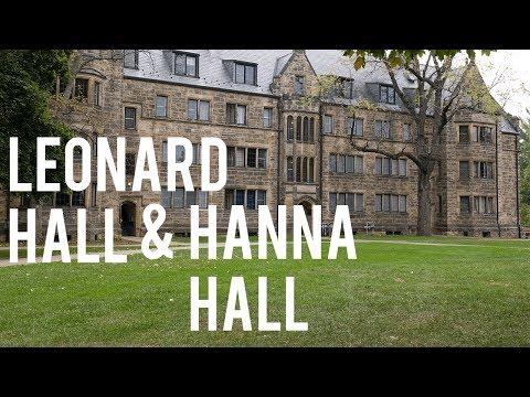 Kenyon College Virtual Tour: Leonard Hall and Hanna Hall